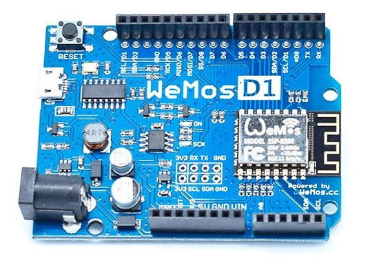 Wemos D1 R1 ESP8266 eeprom