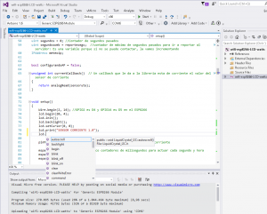 Visual Studio Community y plugin Visualmicro