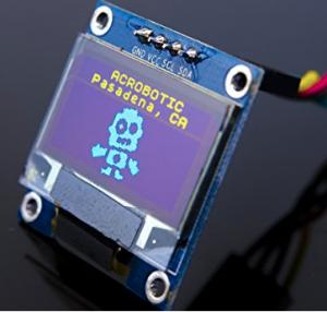 Pantalla OLED para proyecto Arduino 128x64